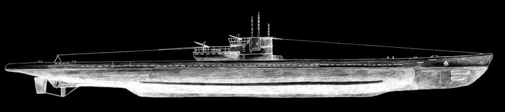 U-550, drawing