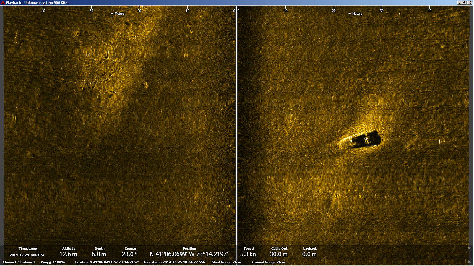 Sound Underwater Survey Survey Of Various Noaa Automated