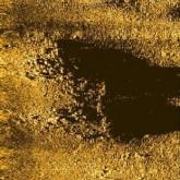 Side scan sonar image of the Trajan shipwreck